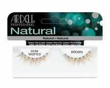Ardell Demi Wispies BROWN False Eyelashes - Premium Quality Fake Lashes!