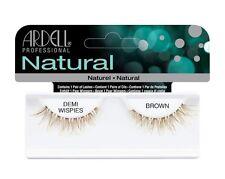 Ardell Demi Wispies BROWN False Eyelashes - Premium Quality Fake Lashes!