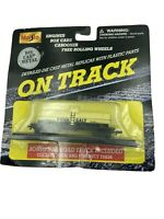NICE MAISTO On Track Penn Salt Tanker Car with track FREE SHIPPING