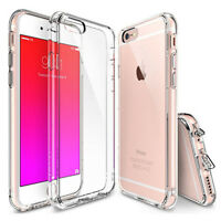 New Slim Transparent Crystal Clear Hard TPU Case Cover For iphone 6 6s Plus KY