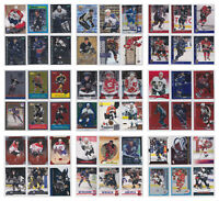 Parallel Low Numbered Refractor Limited Rare Cards NHL Hockey - Choose From List