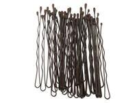 30 Brown Kirby Hair Grips Hair Clip Slides Bobby Pin 6.5cm Hair Accessories