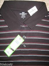 Dockers Golf Polo-shirt.Full Swing fit. Men.L.NWT.$42.100% Fine Cotton