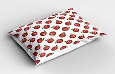 Pomme Taie d'oreiller Cartoon fruits bio