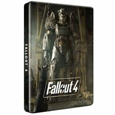 Fallout 4 Steelbook Dogmeat Rare Edition - G2 Size [Video Game Metal Case] NEW