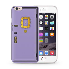 Friends Sitcom Monica's Flat Doors Peephole Rubber Phone Case Fits iPhone Models