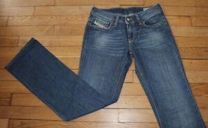 DIESEL Jeans pour Femme W 27 - L 32 Taille Fr 36 BEBEL  (Réf #Y224)