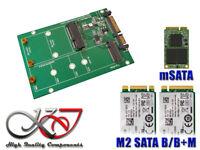 Adaptateur mSATA et ou M.2 / M2 NGFF (type SATA) vers SATA 3