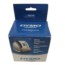 """Dymo LabelWriter Continuous Roll Receipt Paper, 2.25"""" x 300 ft, White"""