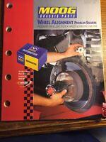 Vintage 1998 MOOG Chassis Catalog Wheel Alignment Problem Solvers Original
