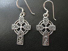 Croci celtiche ARGENTO 925er Orecchini Pendenti Keltik/KA 765 o