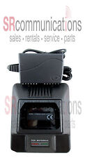 Rapid 3hr Battery Charger Motorola Radios P110 GP300 P1225 GTX800 GTX900 LTS2000