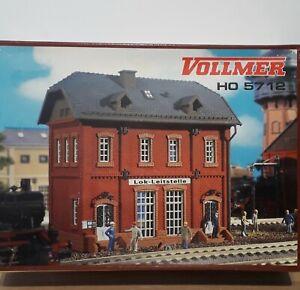 VOLLMER 45712  H0 kit  -  Station Yard Building