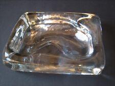 Barbini Murano fermacarte posacenere cristallo firmato  ( Venini Gio Ponti )