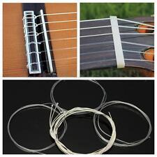 6Pcs Durable Nylon Silver Strings Gauge Set Classical Classic Guitar Acoustic