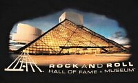 Rock & Roll Hall of Fame + Museum Cleveland Ohio 2 Sided T-shirt Size 2XL Black