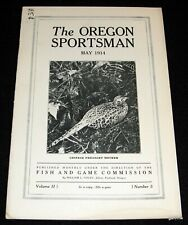 THE OREGON SPORTSMAN 1914 # 9 TIMBER WOLF * CHINESE PHEASANT * WILLAMETTE DUCKS