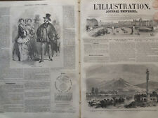 L' ILLUSTRATION 1852 N 467 VUE DU CHÂTEAU DE SAVERNE DANS LE BAS RHIN