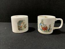 Wedgwood Peter Rabbit Money Box & Mug (E5/02)