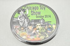 Pinback Button Chicago Toy Show October 2014
