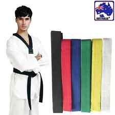 Taekwondo Martial Arts Belt Karate Judo Uniform Waistband Strap Sash OGLST 66