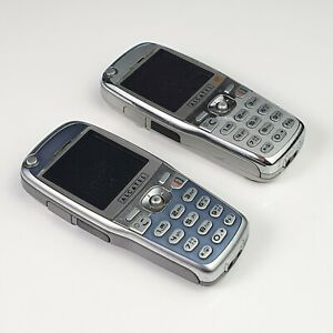 Lot of 2 Vintage Alcatel OT-535 Mobile Phones Since 1998 -Not Tested - For Parts