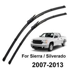 "22"" 22"" 2Pcs/Set Front Windshield Wiper Blades For GMC Sierra MK2 07-13 08 09 11"