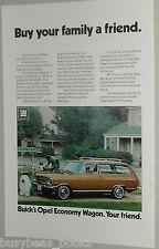 1971 Buick ad, Buick Opel station wagon