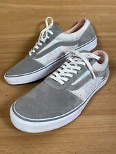 Womens VANS Grey Suede - Light Accents - Size 6.5UK EUR 40 - LIGHTLY WORN VGC
