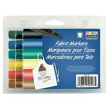New - Fabric Markers - Colored 6-pack