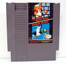 SUPER MARIO BROS DUCK HUNT Nintendo NES Game Quality Seal CLEANED & TESTED 1985