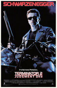 Terminator 2: Judgment Day (1991) Video Poster, Original, SS, Unused, NM, Rolled