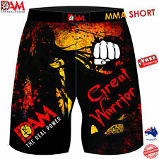 DAM  MMA Fight Shorts Camouflage UFC Cage Fight Muay Thai Boxing sublimated NEW