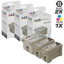 LD Remanufactured Epson T041/T040 5PK: 3 T041020 Color/2 T040120 Black