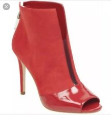Stunning Red Guess Booties