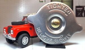 Austin Morris Mini Moke MGA MGC Jaguar Oil Filler Cap Stainless Steel GRC126