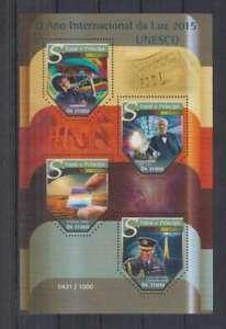 I469. S.Tome E Principe - MNH - 2015 - Organizations - UNESCO