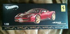 HotWheels Elite BCK12 1/18 2013 Ferrari 458 Italia China Limited Edition
