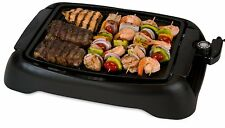 Indoor Stovetop Smokeless BBQ Grill Black Cover non-stick dishwasher safe cooker