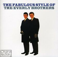 The Everly Brothers, - Fabulous Style of the Everly Brothers [New CD]