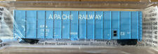 N Scale Deluxe Innovations Apache Railway woodchip Rib Car #1532 MTL Couplers