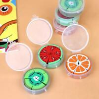10Pcs/pack Creative Fruit Erasers Cartoon Cute Erasers Kids School Statio fast