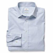 GANT Diamond G Men's Copen Blue Tattersall Check Shirt 383925 $155 NWT