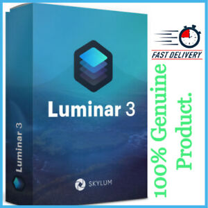 SKYLUM LUMINAR 3 (Windows/Mac) | Full version | License key Lifetime Activation
