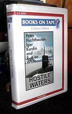 Hostile Waters Cold War by Peter Huchthausen / Howard Unabridged Audio Cassettes