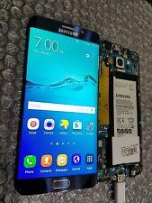 New Samsung Galaxy S6 Edge Plus G928A G928T LCD Frame Black Digitizer Light SBI