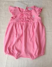 Ralph Lauren Baby Girl's 100% Cotton Polka Dot Romper (9 Months)