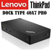 Lenovo Thinkpad Pro USB 3.0 Dock  40A7 SD20K4026  für E590 E570  E560