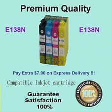 4x Ink Cartridge Epson 138N for Stylus NX230 NX420 NX430 NX635,Workforce 320 325
