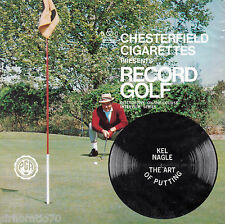 """Chesterfield Cigarettes - RECORD GOLF 7"""" Flexi-Disc Art of Putting Kel Nagle NEW"""